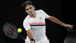 Federer zum Auftakt mit Premiere