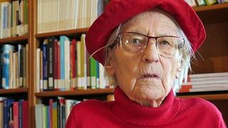 Berner Frauenrechtlerin Marthe Gosteli verstorben