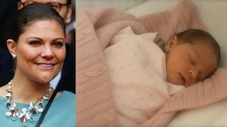 Stolze Tante: Prinzessin Victoria begeistert von Klein-Leonore