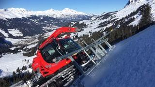 Lavur supplementara per garantir las cursas da skis a Lai