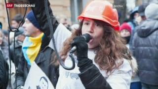 Empörung nach brutalem Akt gegen ukrainische Journalistin