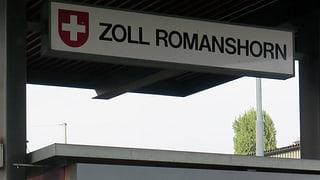 Zollarbeiten in Romanshorn bleiben beim Bund