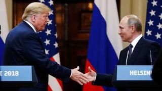 Ferma critica per Trump suenter inscunter cun Putin