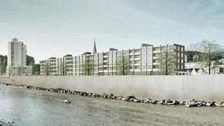 800 neue Wohnungen und 700 Arbeitsplätze im Stadtteil Reussbühl