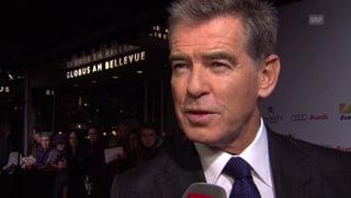 007 in der Schweiz: Pierce Brosnan auf Promotour