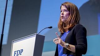 FDP-Präsidentin Gössi verspricht Klima-Positionspapier