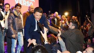 Italien: Matteo Renzi wird Parteichef der Linken