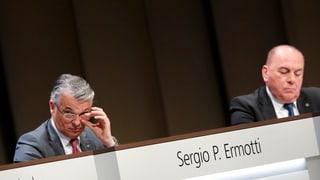 UBS-Aktionäre verweigern Entlastung der Unternehmensspitze