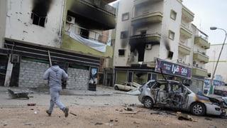 Schwere Kämpfe in Bengasi