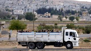 IS nähert sich syrischer Grenzstadt Kobani