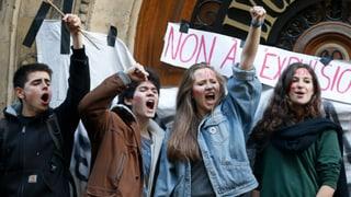 Eine Ausschaffung erhitzt die Gemüter in Frankreich
