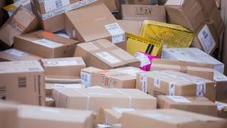 Die Post hat vor Weihnachten 18 Millionen Pakete verarbeitet
