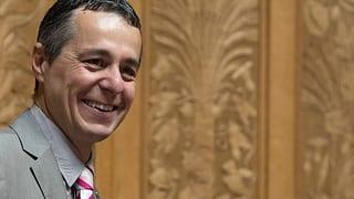 Kronprinz Ignazio Cassis ist bereit für den Bundesrat