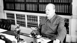Churchills schärfste Waffe waren seine Worte