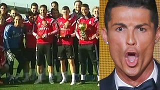 Brunft-Ruf von Zürich: Fussball-Kollegen veräppeln Ronaldo