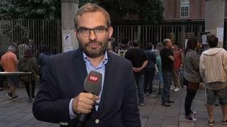 Den Katalanen gehe es bei der Abstimmung nicht unbedingt um ein zählbares Resultat, sagt SRF-Korrespondent Erwin Schmid.
