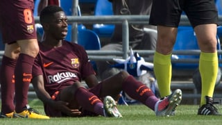 Verletzung wegen Unerfahrenheit? Dembélé soll Mitschuld tragen
