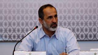 Gezerre um Rücktritt des syrischen Oppositionschefs