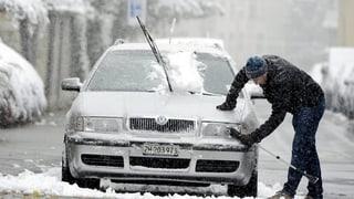 Zürich versinkt im Schnee