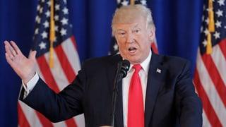«Gewalt auf vielen Seiten» –  Trumps Reaktion erntet Kritik