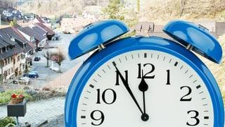 Die Uhr tickt in Meltingen