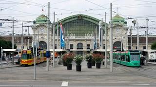 Tramgeleise am Bahnhof SBB werden erneuert