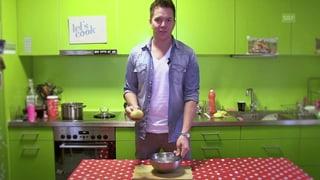 Kartoffeln schälen in 10 Sekunden