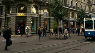 Ikea erobert die Zürcher Bahnhofstrasse