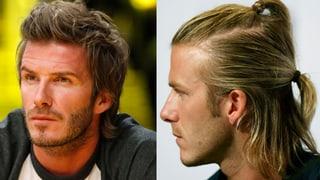 Frisurenkönig Beckham: Von Kopf bis Fuss ein Meister