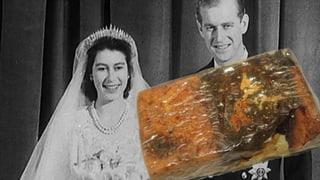 Gammel-Kuchen für 740 CHF: Hochzeitstorte der Queen versteigert