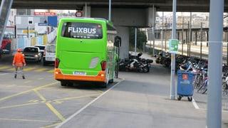 Bald noch mehr Reisecars am Bahnhof SBB