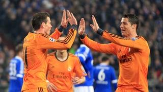 Real Madrid mit 6:1-Gala auf Schalke