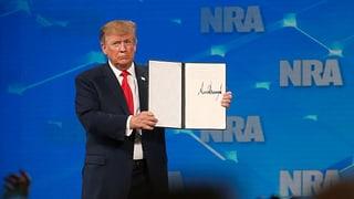Trump will aus Waffenhandels-Vertrag aussteigen