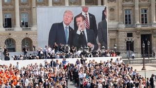 US-Präsident Trump war auf Staatsbesuch in Paris. Lesen Sie hier mehr darüber.