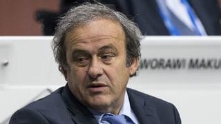 Michel Platini wegen Verdacht auf Korruption in Gewahrsam