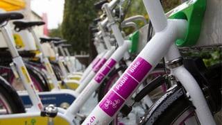 Bikesharing: An jeder Ecke ein Velo