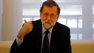 Rajoy bleibt hart