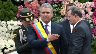 Iván Duque als Präsident vereidigt