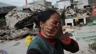 Verheerende Zerstörungen nach Beben in China