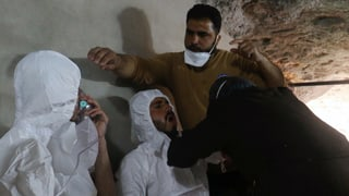 UNO-Ermittler bestätigen: Syrien hat im April Sarin eingesetzt. Dabei starben mindestens 80 Menschen, Hunderte wurden verletzt.