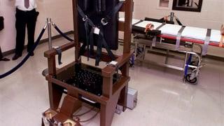 Weniger Hinrichtungen in den USA