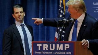 Trump erneut in Erklärungsnot: Bei einem Statement zu Russland-Kontaktenvon von Donald Trump Jr. gab es präsidiale Hilfe.