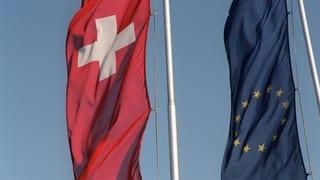Bilaterale: EU will über Vorschlag aus Bern reden