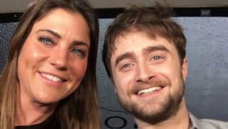 Radcliffe in der «G&G»-Limousine: «Ich bin keine Limo-Person»
