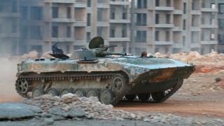 Kampf um Aleppo spitzt sich zu