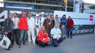 Lohn-Protest auf «Vierfeld»-Grossbaustelle Pratteln