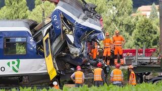 Zugunfall im Waadtland: Schaden von 8 Millionen Franken