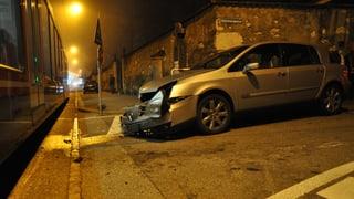 Kollision von Auto mit «Bipperlisi» geht glimpflich aus