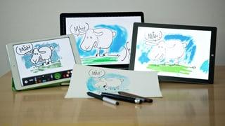 Papierlos zeichnen – mit digitalem Stift