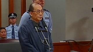 Gericht verurteilt Chinas Ex-Bahnminister zum Tode